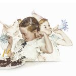 A day in the life of a girl, di Norman Rockwell