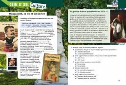 Deux amis Guy de Maupassant Paola Ruggeri Loescher 2019. Progettazione editoriale, redazione e impaginazione Les Mots Libres. Culture.