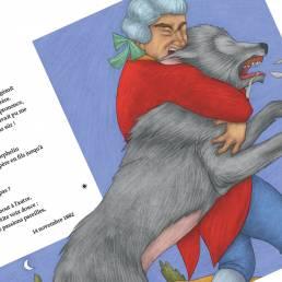 Deux amis Guy de Maupassant Paola Ruggeri Loescher 2019. Progettazione editoriale, redazione e impaginazione Les Mots Libres.