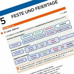 Inklusive Grammatik, corso di tedesco Zanichelli, 2019. Impaginazione Les Mots Libres.