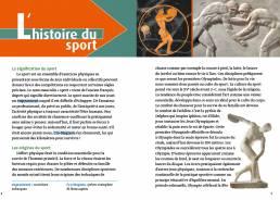 Les plus belles histoires de sportifs français, Claire Uzenat (Loescher 2019). Progettazione editoriale, redazione e impaginazione Les Mots Libres. Histoire du sport.