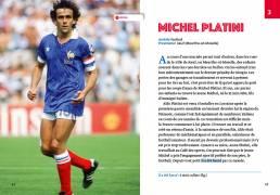 Les plus belles histoires de sportifs français, Claire Uzenat (Loescher 2019). Progettazione editoriale, redazione e impaginazione Les Mots Libres. Michel Platini.