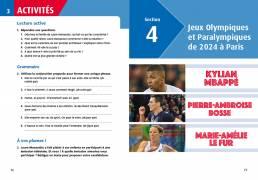 Les plus belles histoires de sportifs français, Claire Uzenat (Loescher 2019). Progettazione editoriale, redazione e impaginazione Les Mots Libres.