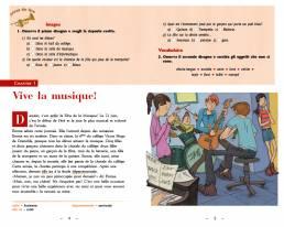 Musique et... surprise! di Chiara Ramero (Pearson, 2019). Redazione e impaginazione Les Mots Libres. Interno.